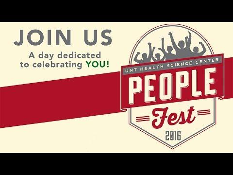 UNTHSC People Fest 2016