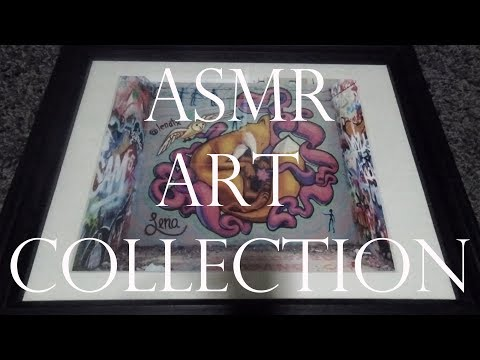 ASMR Fine Art Collection (Tapping + Scratching Triggers)