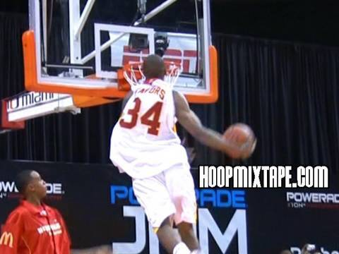 Derrick Favors Official Hoopmixtape; 6\'9 Sick Athlete