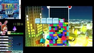 Tetris Axis (3DS) - Full Playthrough [Part 1/2]