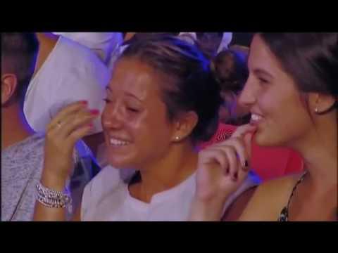 Angelo Pintus Arena di verona Spettacolo 2016 con proposta di matrimonio