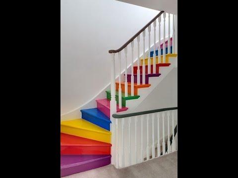 Decoración de escaleras para renovar las energías/Feng Shui