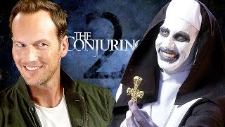 The CONJURING 2 - Patrick Wilson & James Wan & Valak - THE NUN