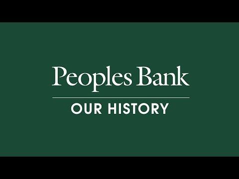 The History of Peoples Bank