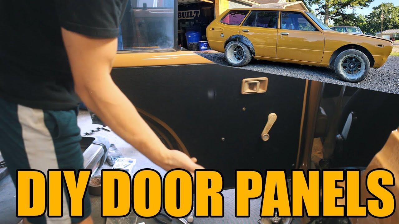 $3000 BUDGET BUILD: DIY CHEAP DOOR PANELS AND DASH REPAIR