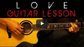 Скачать LOVE Lana Del Rey Easy Acoustic Guitar Tutorial Lesson Cover Tabs Chords Lyrics