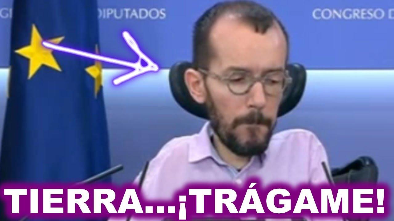 """Un periodista deja en ridículo a Echenique al retratar a Pablo Iglesias por el """"Caso Dina"""" ¡BRUTAL!"""