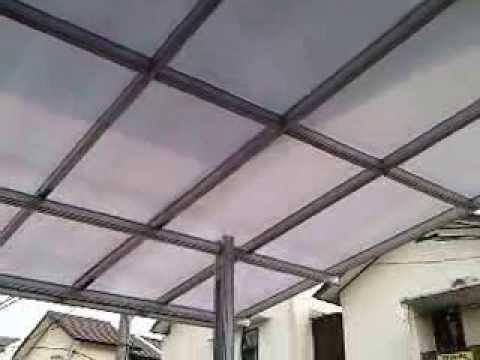 harga kanopi baja ringan atap polycarbonate top konsep 47