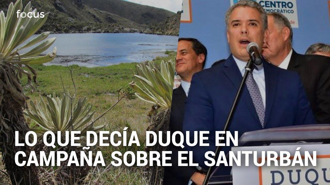 Cuando, en campaña, Duque se oponía a minería en el páramo de Santurbán