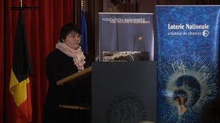 T. Sïrbu - Lauréate du «Prix Fondation Auschwitz – Jacques Rozenberg» - 2017-10