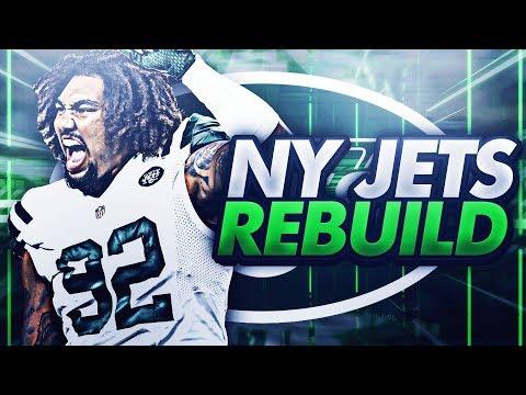 99 OVERALL SIGNING!! NY JETS REBUILD! MADDEN 18 REBUILD
