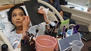 Woman Applies Makeup While Giving Birth