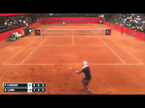 Paolo Lorenzi vs Gonzalo Lama [Parte 2] - 1st - Challenger de Bucaramanga 2015