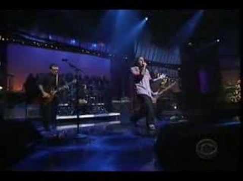 POD - Youth of a Nation (Live Letterman 12-27-01)