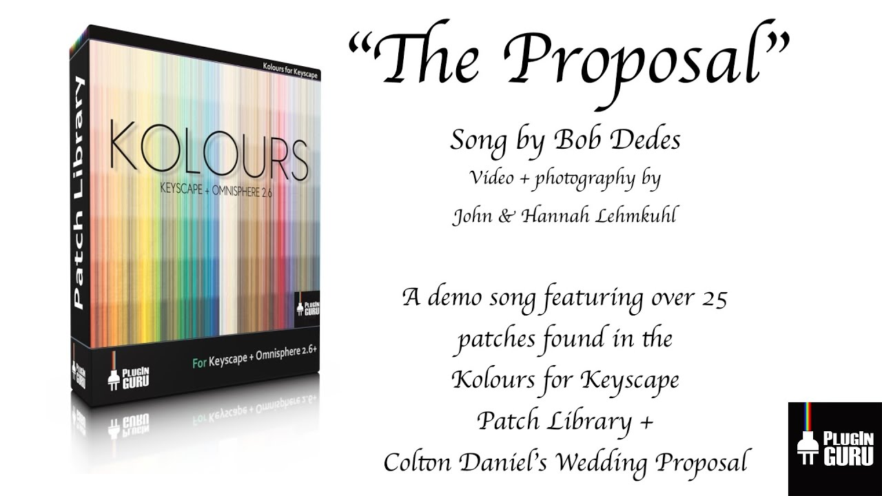 The Proposal - Kolours Song Demo - How To Make Beats Blog