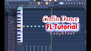 ASTRONOMIA    COFFIN DANCE FL STUDIO TUTORIAL [Fast & Easy] For Beginners