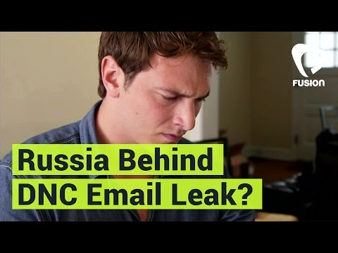 Is Russia Behind The DNC Email Leak?