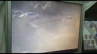 news תיעוד נפילה נפילת רקטה ב שדרות הסלמה בדרום עוטף עזה