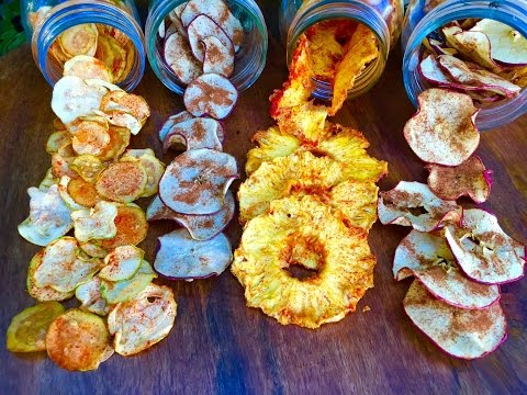 Snacks Saludables! (Fruta y Verdura Seca Hecha en Casa)
