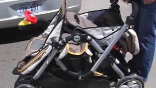 как сложить коляску Jeep Trveler Tandem(путешествовать с двумя детьми легко, если.. у тебя есть коляска Jeep Trveler Tandem, и ты знаешь, как сложить эту коляс..., 2009-10-04T00:45:39.000Z)