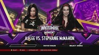 vuclip WWE.com WrestleMania XXX Dream Match 4 - AJ Lee vs. Stephanie McMahon