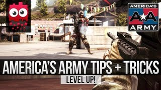 Level Up! - America's Army Proving Grounds Beta - Tips and Tricks / Guide. [Accuracy/Aim]