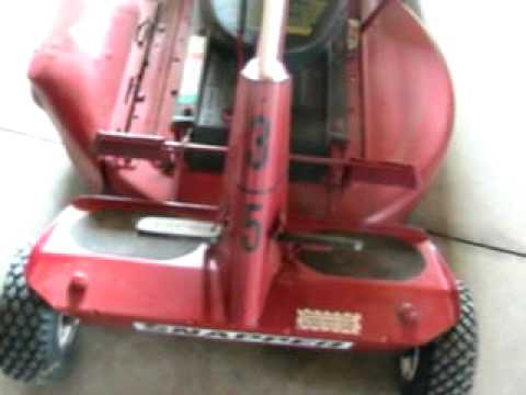 Snapper Riding Mower Youtube