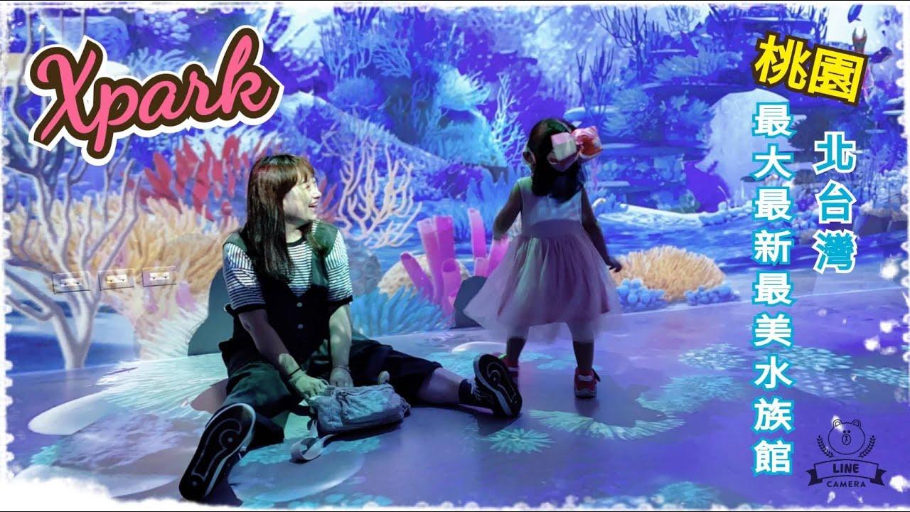 【食趣日常 C10】北台灣最新最大最美 都會型水生公園 XPARK水族館 / 雅菁私は食べるのが好き ~ [ 桃園 ]
