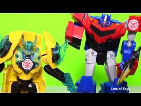 Megatronus vs Autobots Drift, Grimlock, Bumblebee Compilation