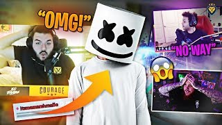 MARSHMELLO ASKS ME TO BE ON HIS ALBUM!! TIM AND MARCEL CAN'T BELIEVE IT! (Fortnite: Battle Royale)