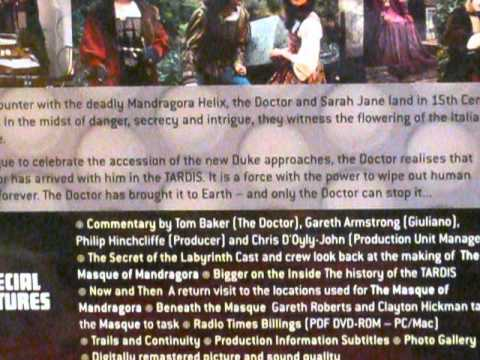 Doctor Who DVD Reviews: The Masque of Mandragora