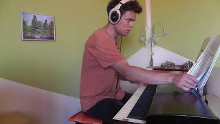 One Direction - Through the Dark - Piano Cover - Slower Ballad Cover