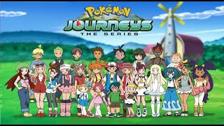 "Pokémon Journeys: ""The Journey Starts Today"" Full Theme AMV!"