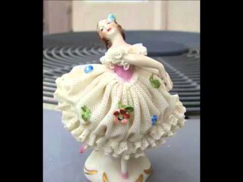 Ceramic Ballerina Figurines | Picture Set Of Beautiful & Decor Work