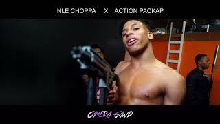 "NLE Choppa x Action Pack Ap   BTS   ""Nle Choppa Dance Off"""