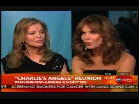 Cheryl Ladd & Jaclyn Smith Reunion | Good Morning America | 2010