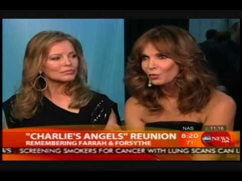 Cheryl Ladd & Jaclyn Smith Reunion  Good Morning America  2010