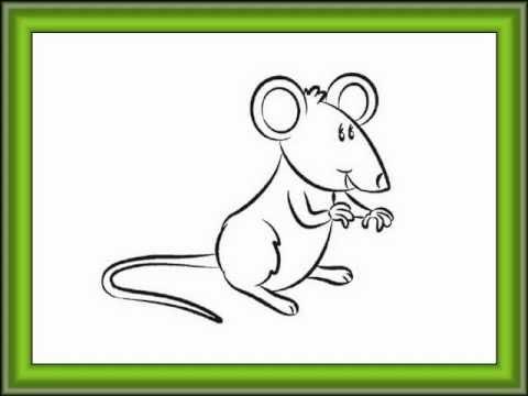 como desenhar um ratinho youtube