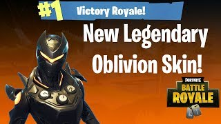 *NEW* OBLIVION Skin Gameplay! - Fortnite Battle Royale
