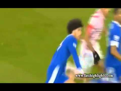 Marouane Fellaini Headbutt's Ryan Shawcross [FULL VIDEO]