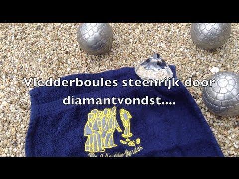 Diamantenvondst bij Vledderboules PetanqueJeu de Boules vereniging