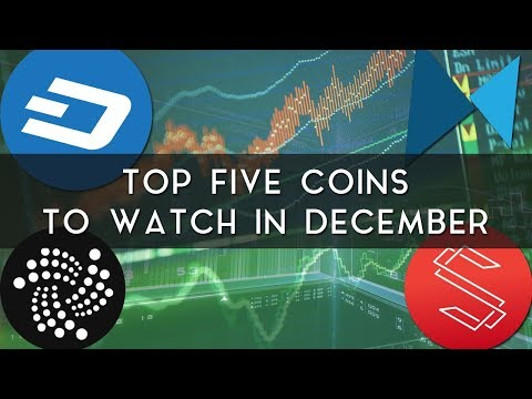 Top 5 Coins to Watch in December   Dash, Substratum, & more!
