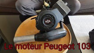 Le moteur Peugeot 103