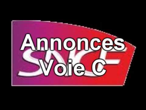 Annonces SNCF en gare de Caen