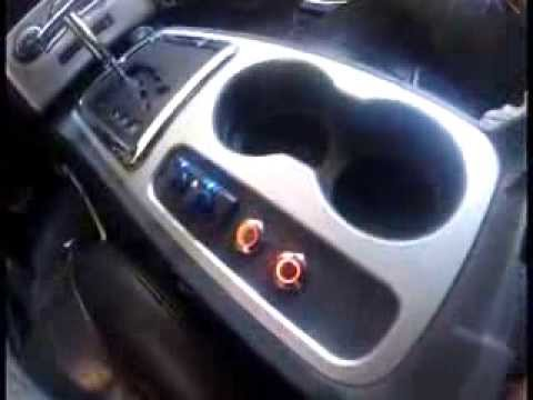 Dodge Challenger Console Mod - Rockford 3sixty - YouTube
