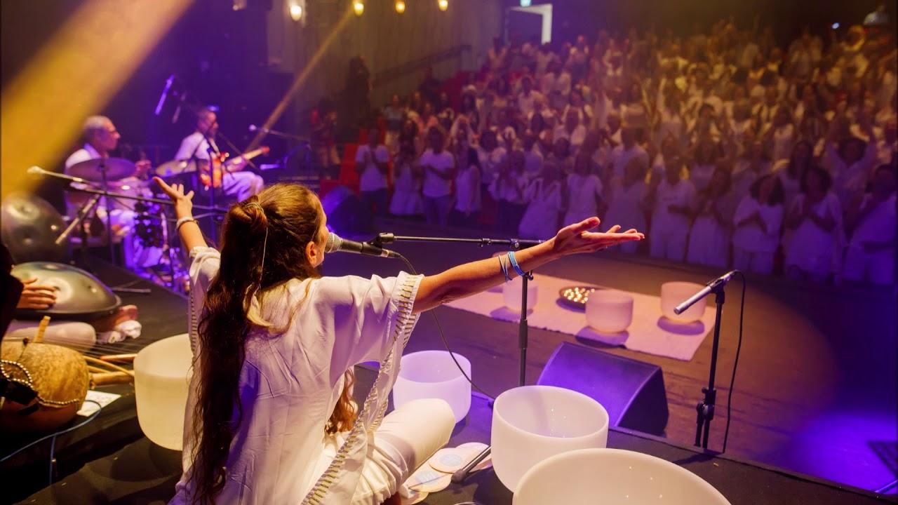 הללו יה-  - Hallelujah -  Hebrew Mantra -White & Ori