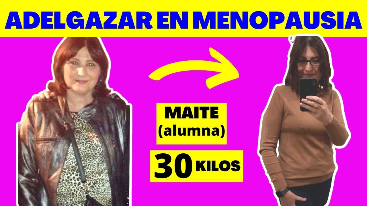 Como adelgazar en la menopausia precoz