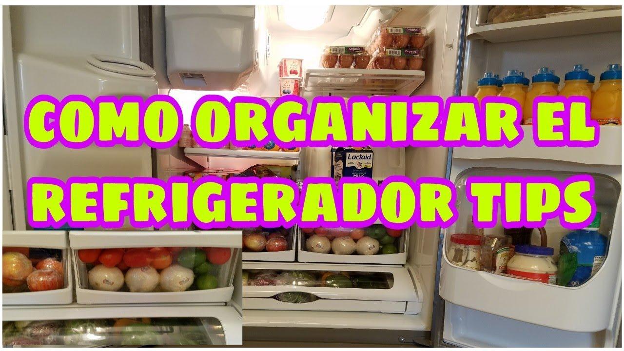 Como organizar el refrigerador tips menos tiempo en la for Como ordenar la nevera