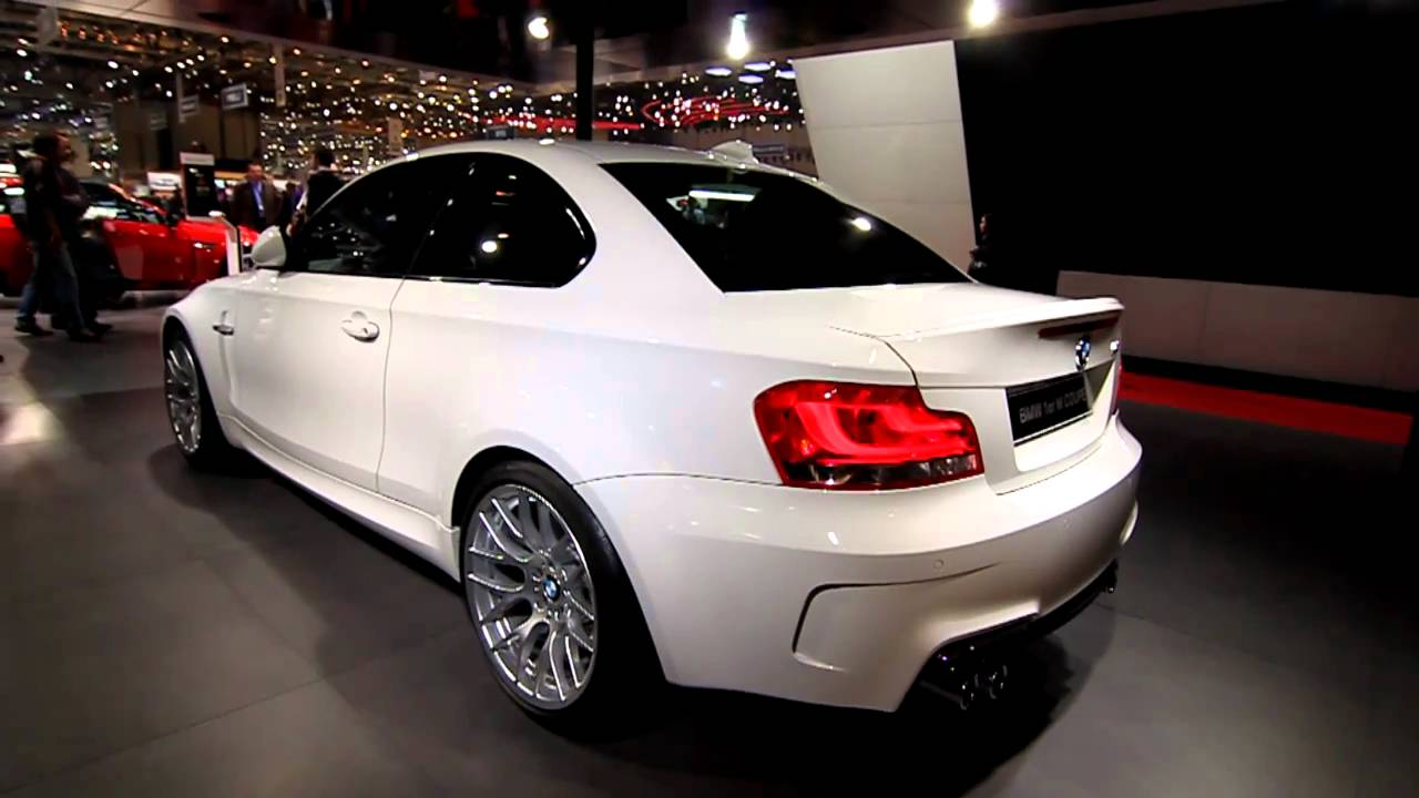 BMW 1M Coupe Alpine White at 2011 Geneva Motor Show  YouTube
