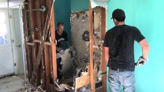 Interior Demolition in Orange County by SoCal Removal Contractor